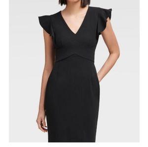 DKNY Dresses - DKNY | Sheath Dress With Ruffle Sleeve